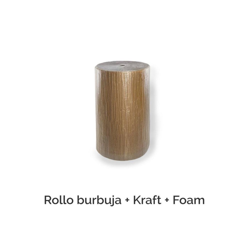 Rollo burbuja + Kraft + Foam
